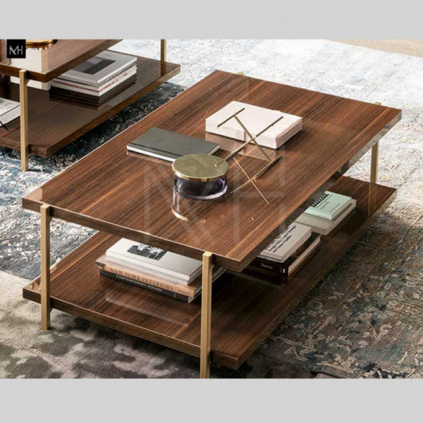MID CENTURY RECT. TABLE